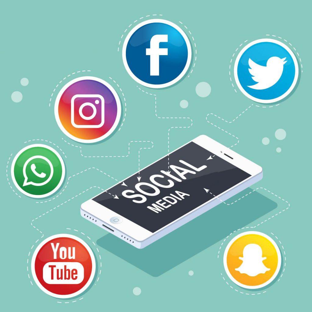 T_11 smartphone - Social Media