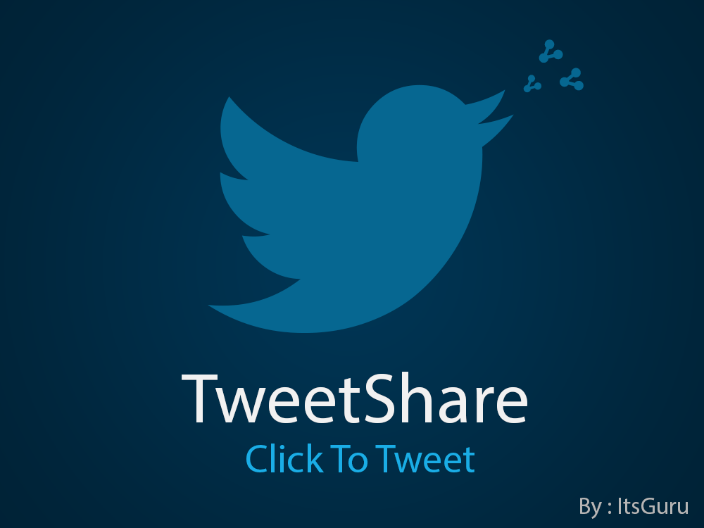 TweetShare - Klikk for å Tweet WordPress Plugin