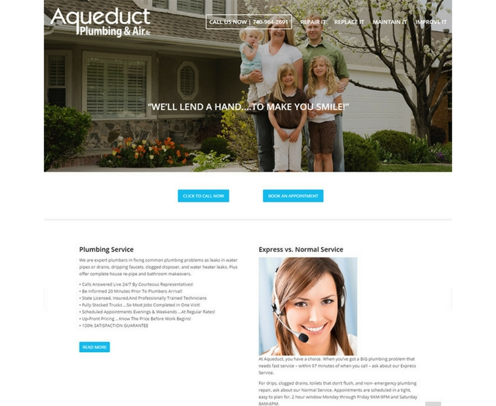 Aqueduct Plumbing & Air in Columbus, Ohio