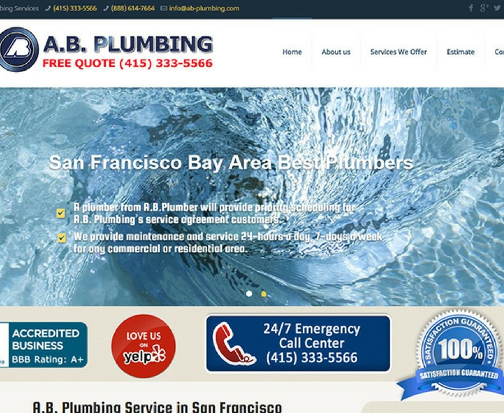 100 Top Plumbing Websites For Design Inspiration Itsguru