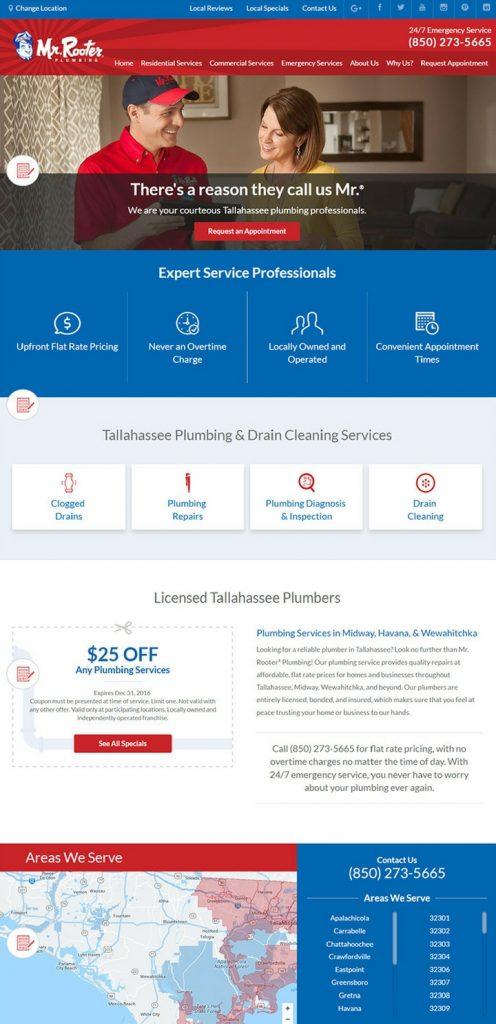 Plumbing Websites Designs Plumbing Contractor