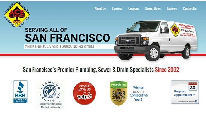 Ace Plumbing in San Francisco, California