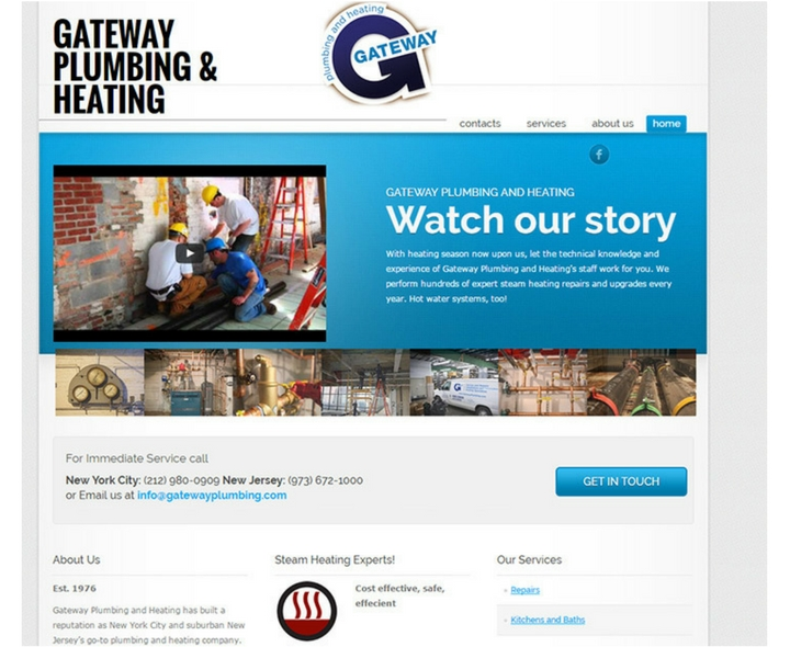Gateway Plumbing and Heating In New Your City & New Jersey