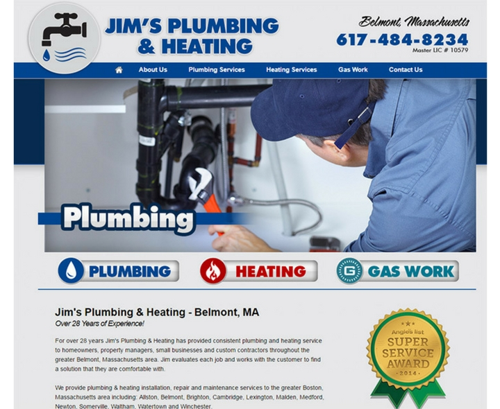 Jim's Plumbing & Heating