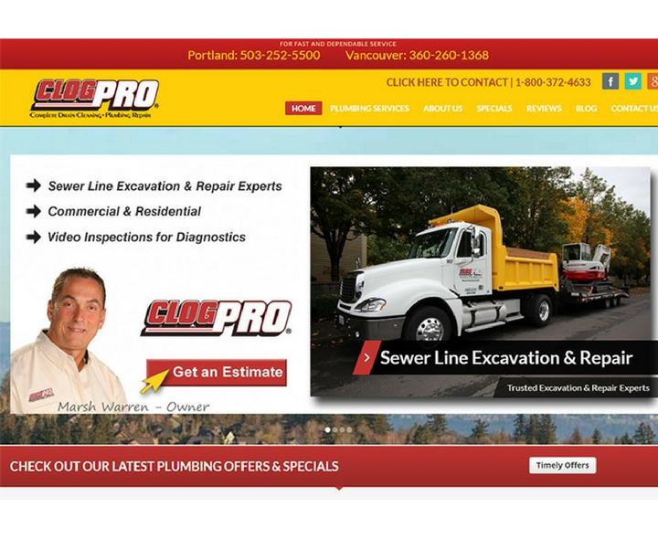 Clog Pro Complete Drain Cleaning and Plumbing Repairs