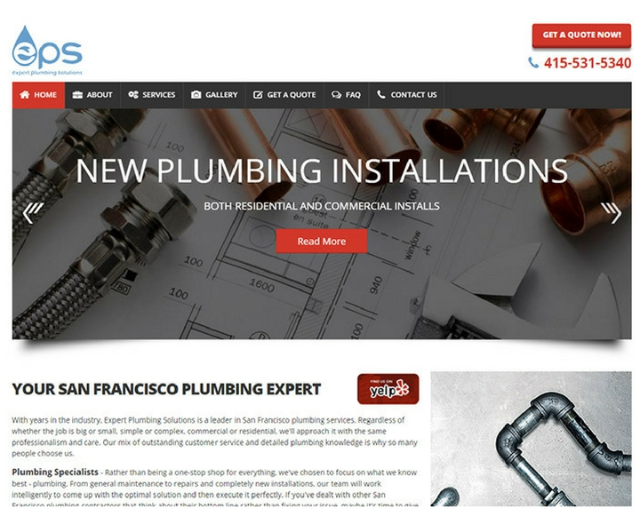 100 Top Plumbing Websites For Design Inspiration