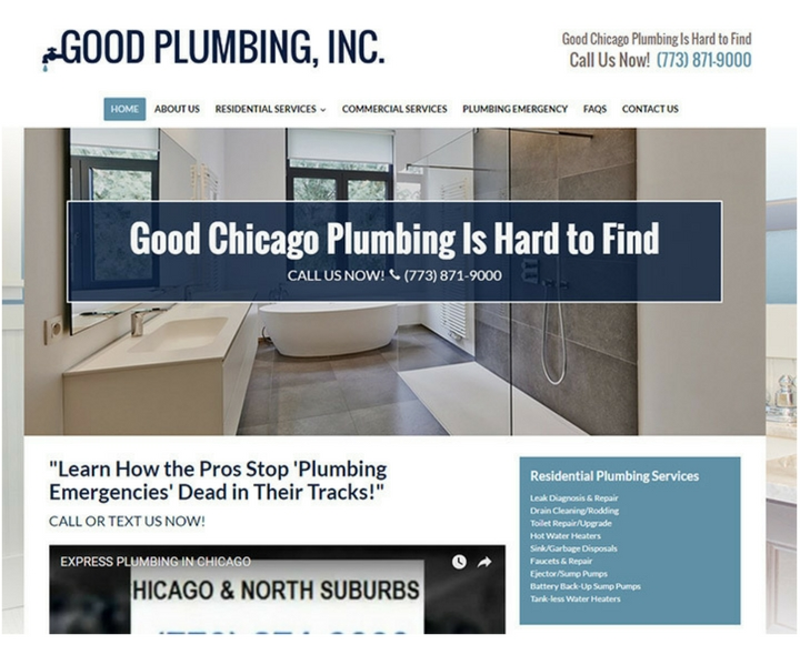 Top More Then 100 Plumbing Websites For Design Inspiration