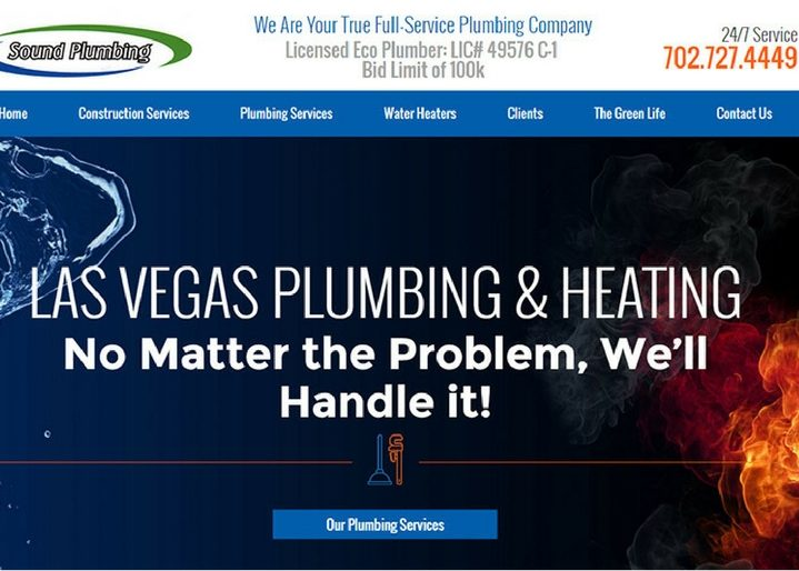 Sound Plumbing in Las Vegas, Nevada