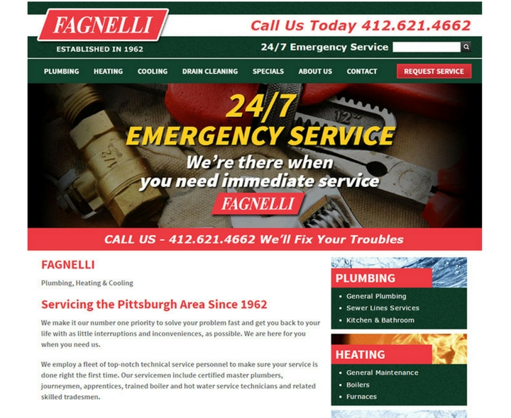 Fagnelli in Pittsburgh, Pennsylvania