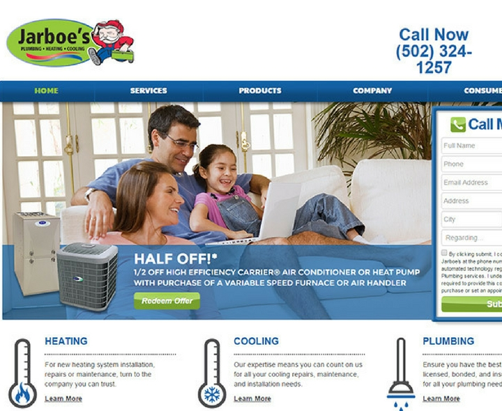 Jarboe's Plumbing, Heating & Cooling in Louisville, Kentucky