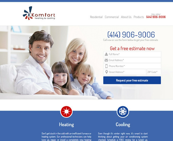 K Komfort Heating & Cooling in Milwaukee, Wisconsin
