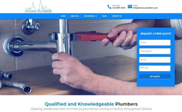 Top More then 100 Plumbing Websites For Design Inspiration