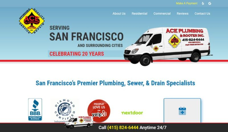 Ace Plumbing & Rooter in San Francisco, California