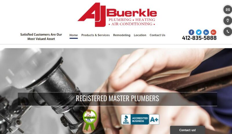 AJ Buerkle Plumbing & Heating Co