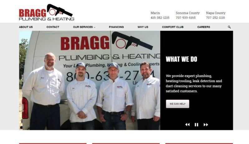 Bragg Plumbing & Heating in San Francisco, California