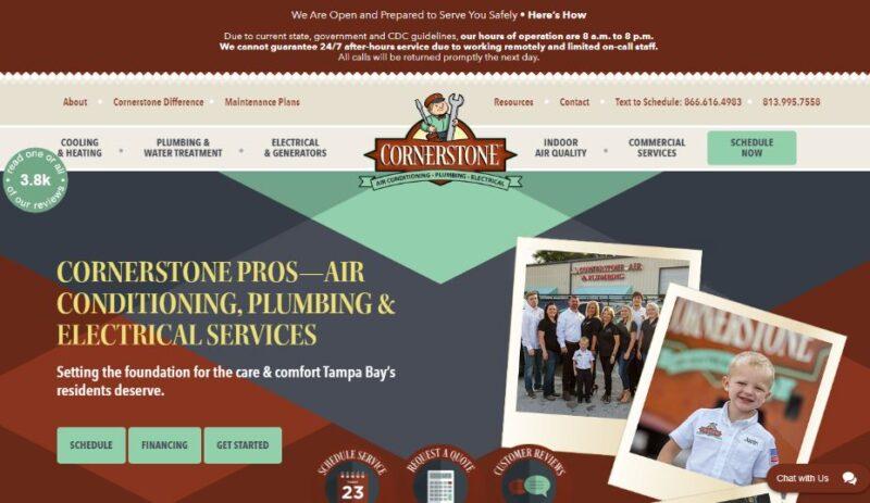 Cornerstone Air & Plumbing