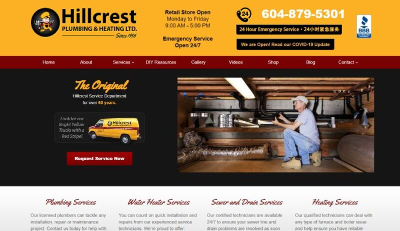 Hillcrest Plumbing & Heating Ltd