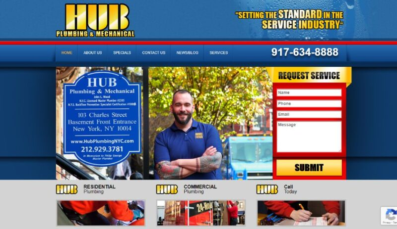 Hub Plumbing & Mechanical in NYC