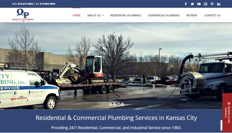 Quality Plumbing, Inc.  in Kansas City, Missouri