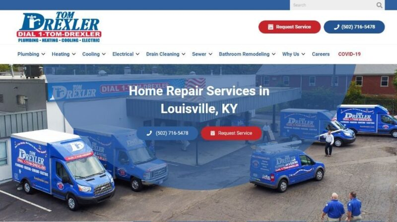Tom Drexler Plumbing, Heating, Cooling and Electrical in Louisville, Kentucky