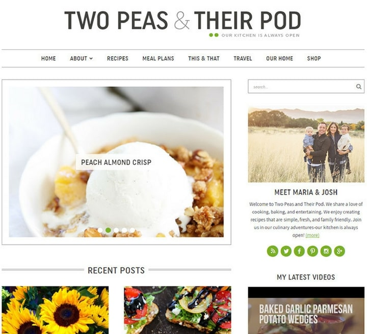 Best cooking food recipe blog website inspirations two peas their pod cooking food websites forumfinder Gallery