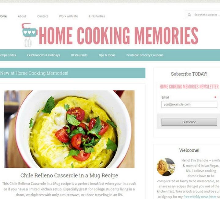 cooking & food websites