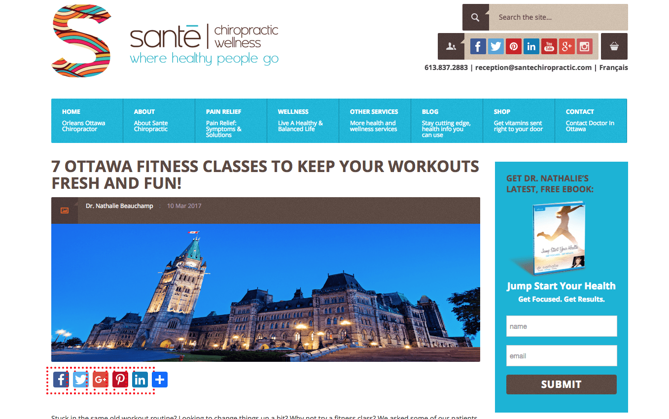 Ottawa Fitness Classes