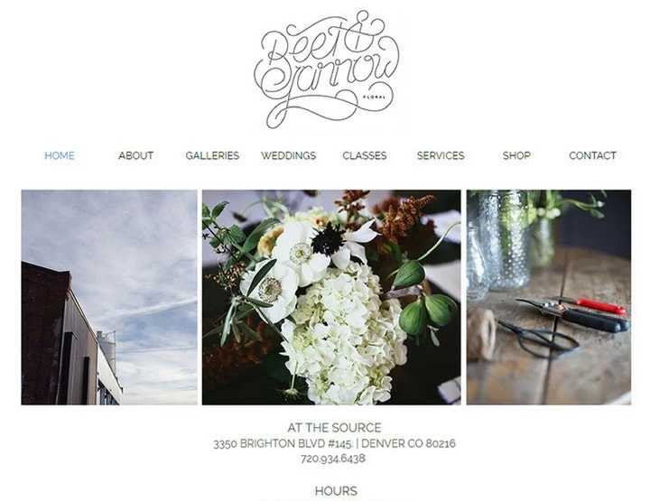 Florist Website Design