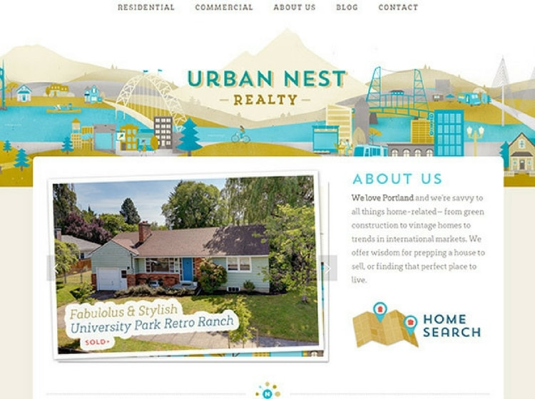 Real Estate Website Designs