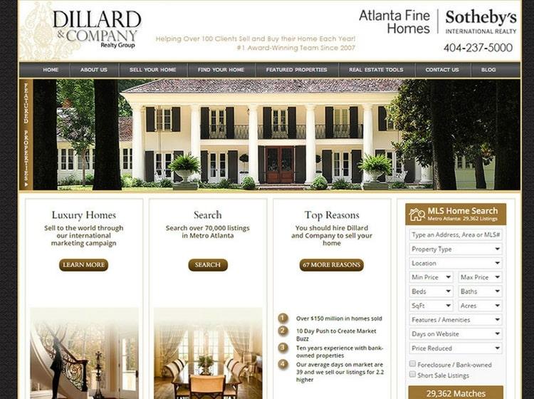 Real Estate Website Designs