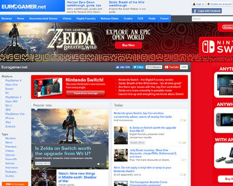Gaming Blogs Webdesigns
