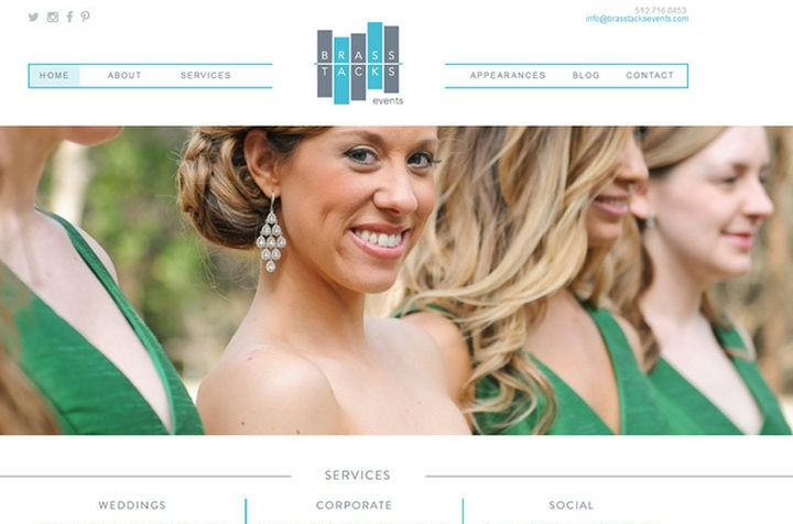 wedding planning & event websites