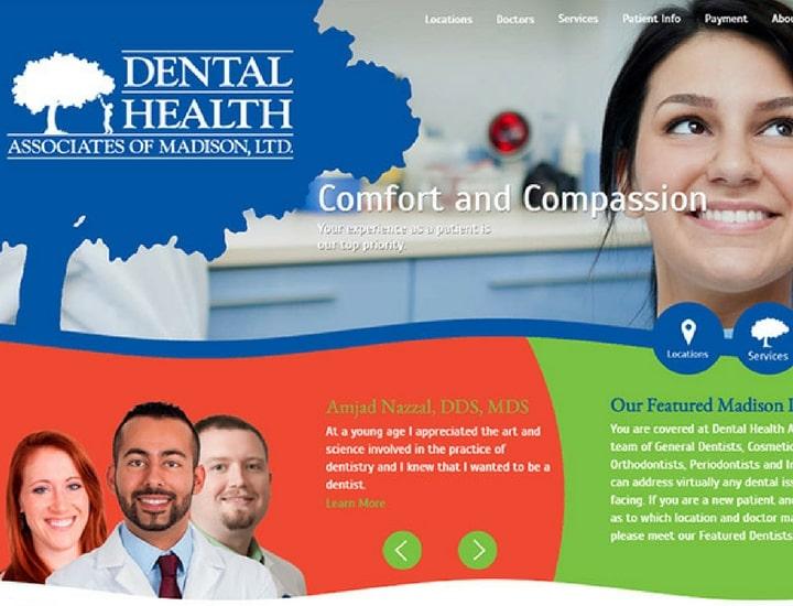 dentist webdesigns