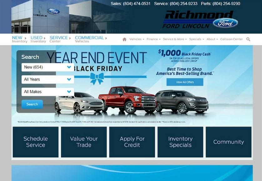 100 car dealership website designs for your inspiration. Black Bedroom Furniture Sets. Home Design Ideas