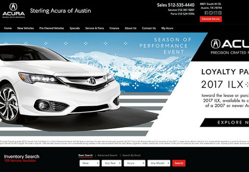Sterling Acura
