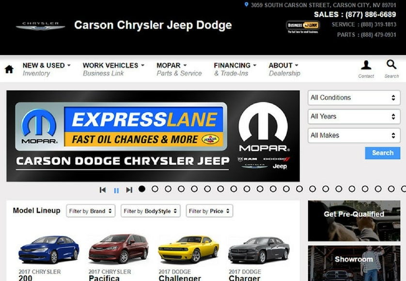 Carson Chrysler Jeep Dodge
