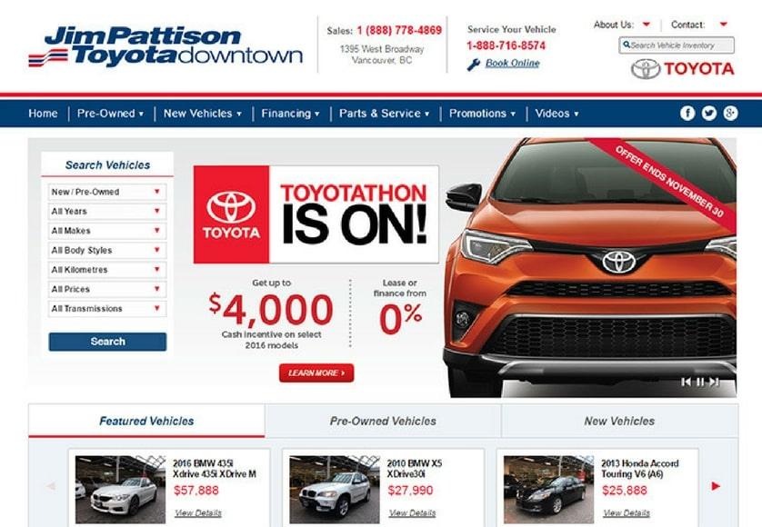 Jim Pattison Toyota