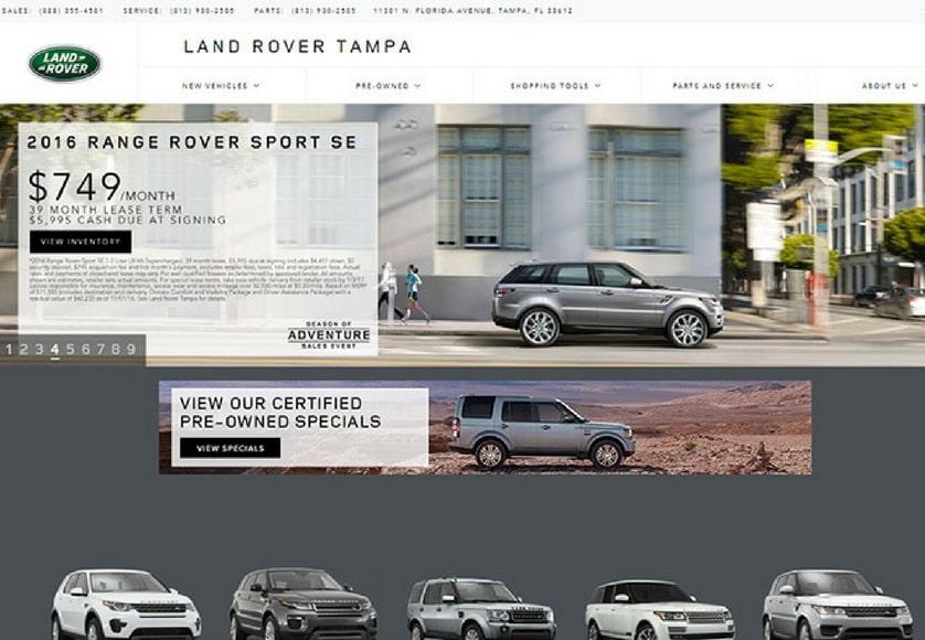 Landrover Tampa