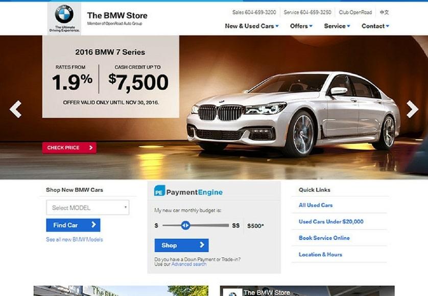 BMW Store