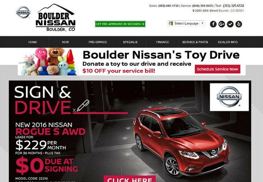 Boulder Nissan