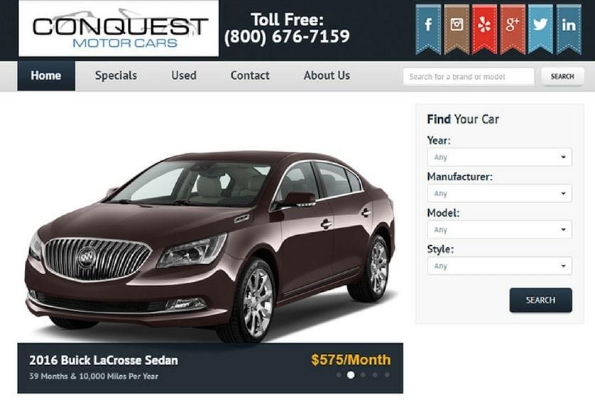 Conquest Motor Cars