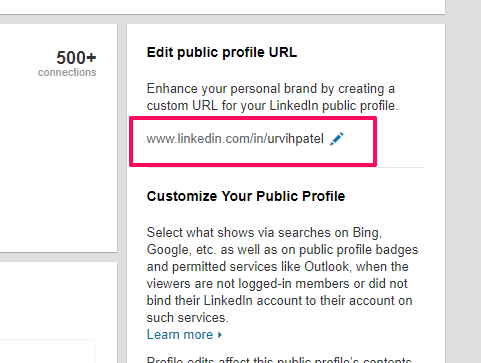 edit your profile url | LinkedIn Profile Tips 10 Ways to Keep Your Page Fresh